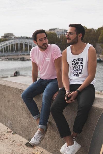 2 gay men