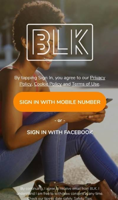 BLK sign up