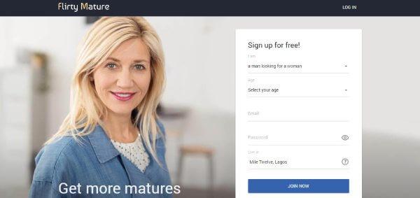 FlirtyMature sign up